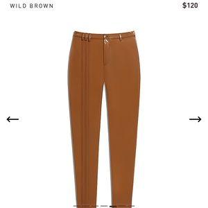 NWT Ivy park latex pants (M)